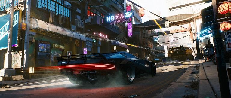 Машина в Cyberpunk 2077