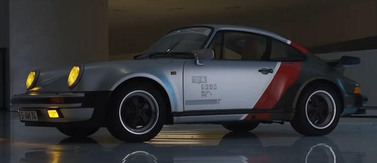 Porsche 911 в Киберпанк 2077